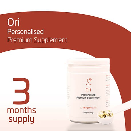 OriPRIME Personalised Longevity Supplement - 3 Months