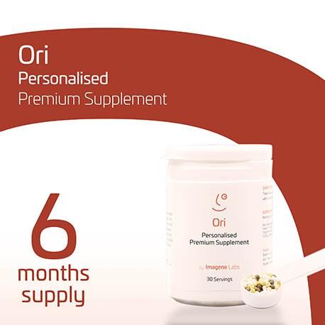 OriPRIME Personalised Longevity Supplement - 6 Months
