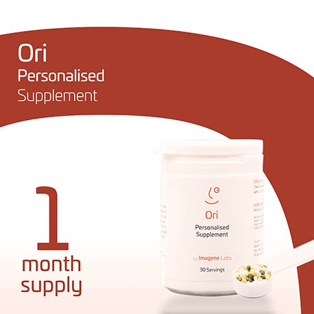 OriFIT Personalised Fitness Supplement - 1 Month