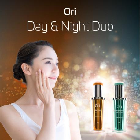 Day & Night Duo - Daily Repair Facial Serum + Radiance Revitalise Facial Essence